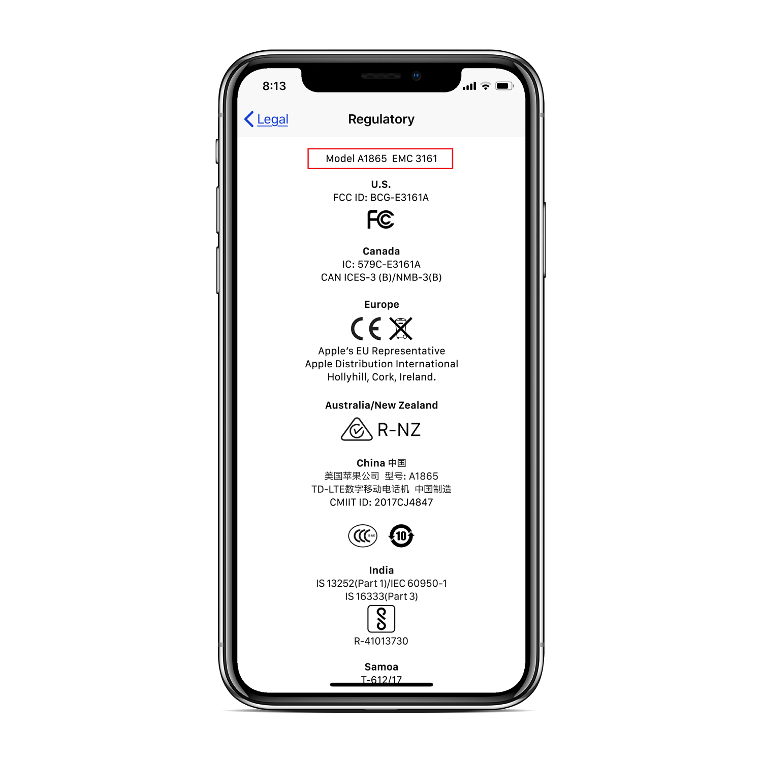 How to Identify if Your iPhone X has Qualcomm or Intel modem
