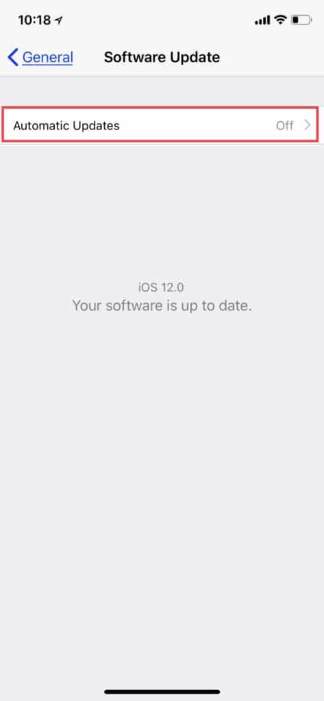 automatice-updates-ios-12