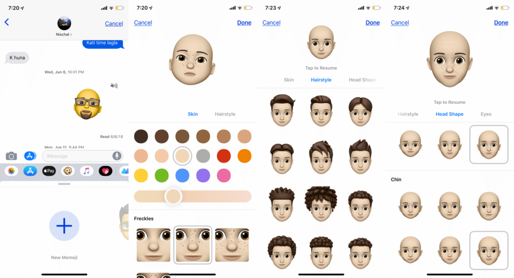 design-memoji-in-message-app-ios-12