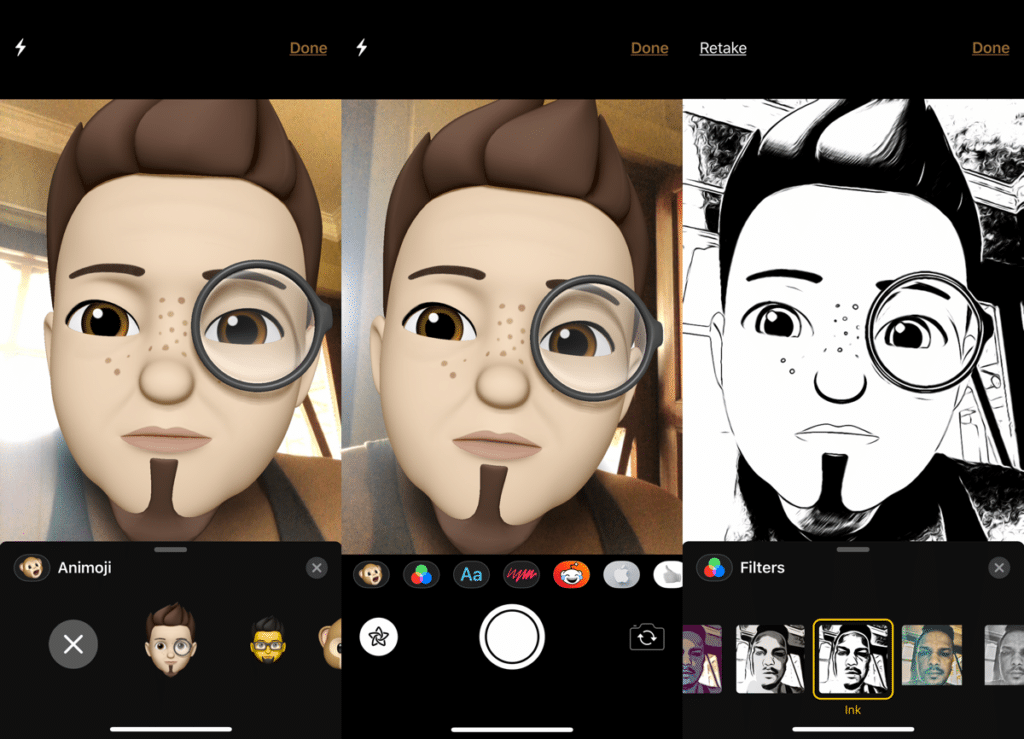 use-memoji-from-camera-in-ios-12