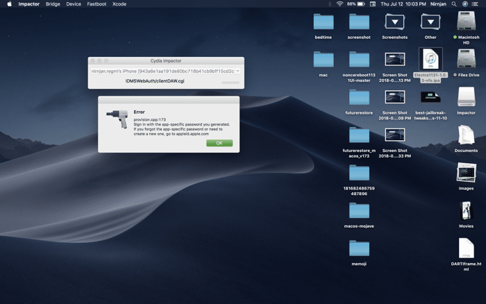 specific-password-error-apple-id-cydia-impactor