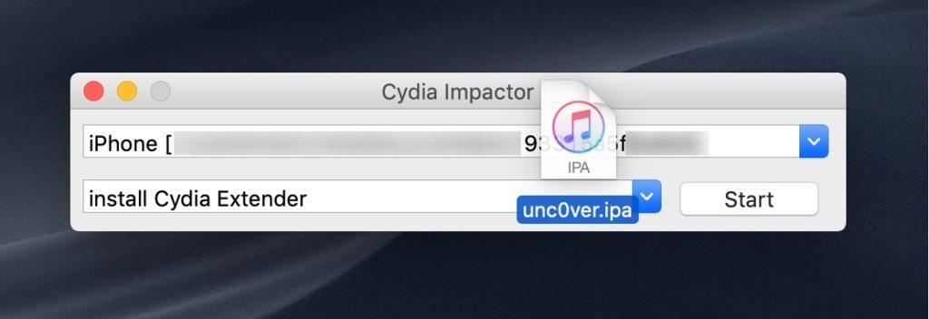 unc0ver-Cydia-Impactor